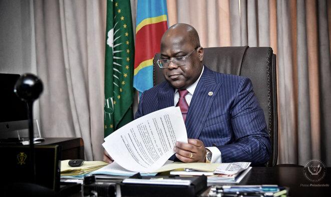 Félix Tshisekedi © Présidence RDC
