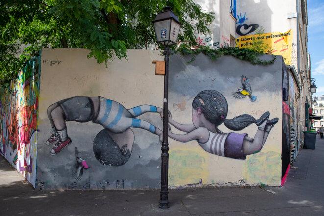 Paris, quartier de la Butte-aux-Cailles © Olivier Roberjot