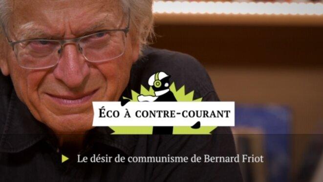 Bernard Friot © Mediapart