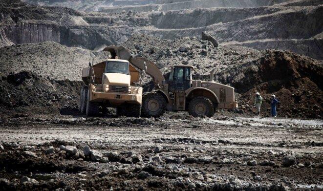 Site minier près de Lubumbashi © Christophe Rigaud - Afrikarabia