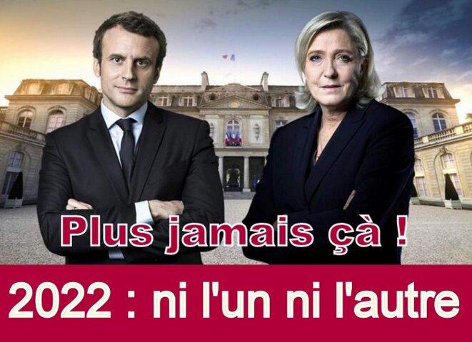 Emmanuel Macron - Marine le Pen © Gérard Gamier