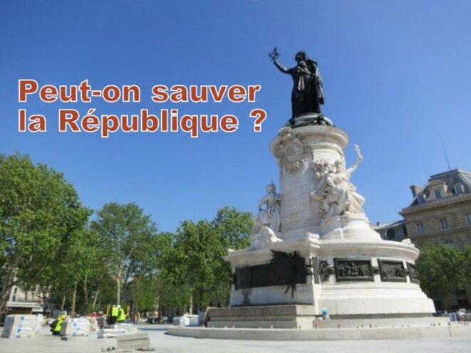 Peut-on sauver la République ? © Gérard Gamier