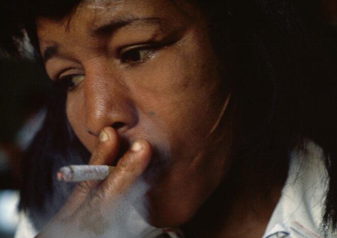 """""""Smoking eyes"""" Photographie de Miguel Rio Branco © Miguel Rio Branco"""