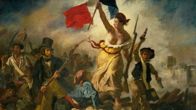 La liberté © Delacroix