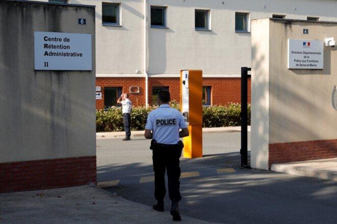 Le centre de rétention de Mesnil-Amelot, en banlieue parisienne, le 16 septembre 2020. © GEOFFROY VAN DER HASSELT / AFP