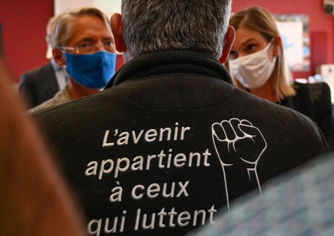 A l'usine Bridgestone de Béthunes (Pas-de-Calais), le 21 septembre 2020. © Denis Charlet / AFP