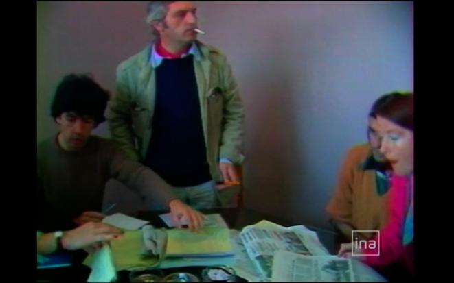 Marcel Trillat dans une archive « INA » du film « Voix off » de Yves Gaonac'h (Rouge productions, 2011)