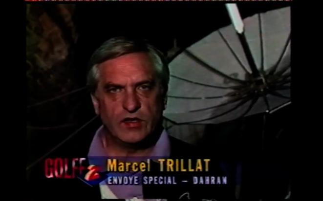 Marcel Trillat dans une archive « Antenne 2 » du film « Voix off » de Yves Gaonac'h (Rouge productions, 2011)