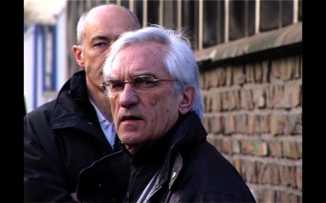 Marcel Trillat dans le film « Voix off » de Yves Gaonac'h (Rouge productions, 2011)