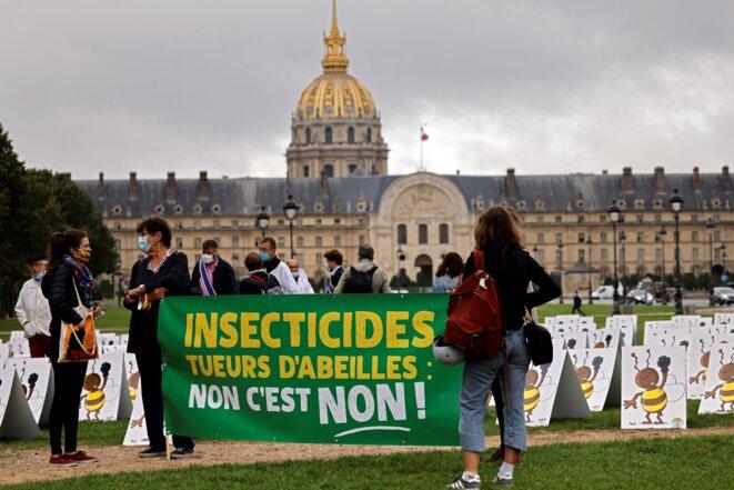 À Paris, le 23 septembre 2020. © AFP