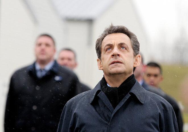 Nicolas Sarkozy, en mars 2012. © FRANCOIS NASCIMBENI / AFP