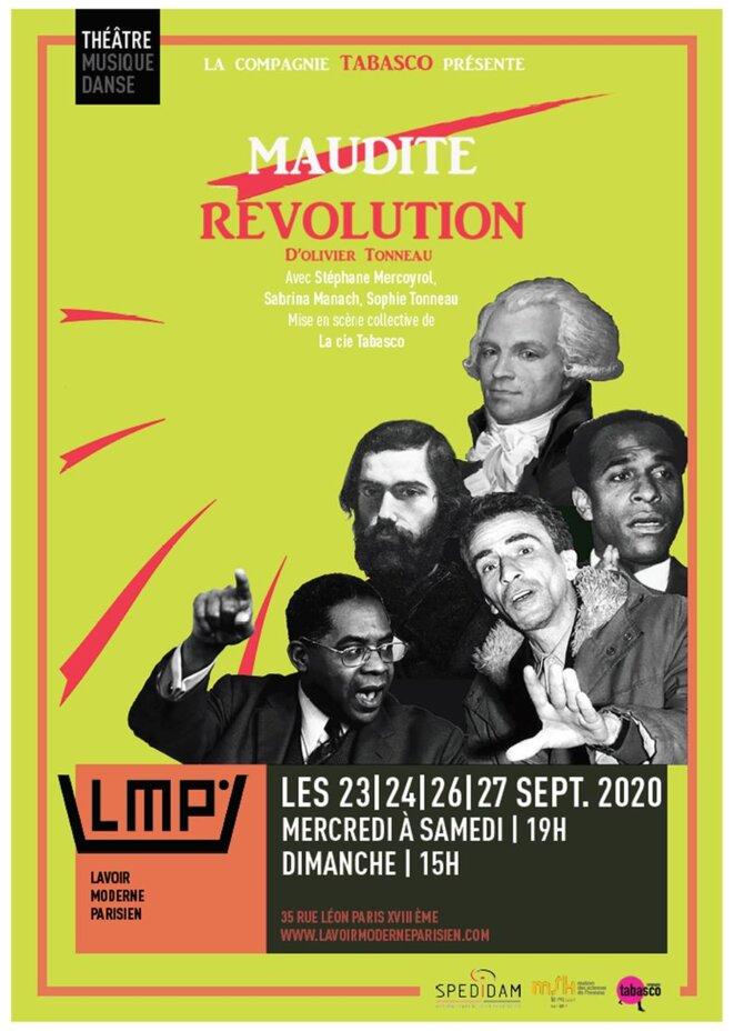 Maudite Révolution au Lavoir Moderne