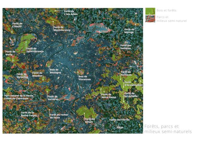 Carte des forêts © fair