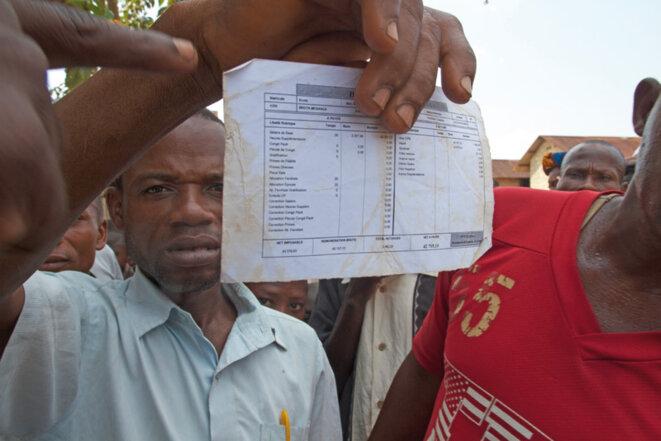 En novembre 2018, le RIAO-RDC a déposé une plainte contre Feronia Inc au nom de neuf communautés de la RDC. Photo : Argia