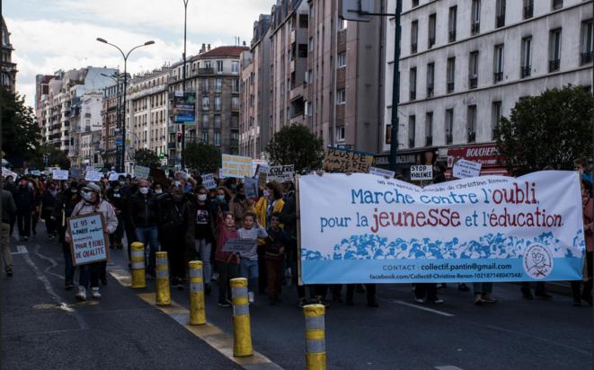 La marche commémorative pour Christine Renon. © DR