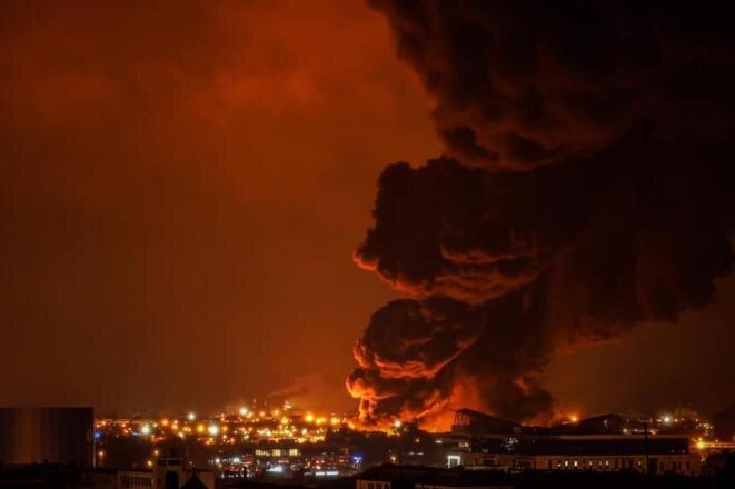 Incendie de l'usine Lubrizol à Rouen, le 26 septembre 2019