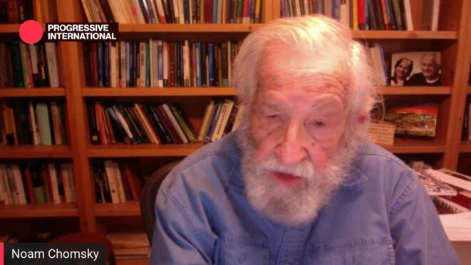 Noam Chomsky © Internationale Progressiste