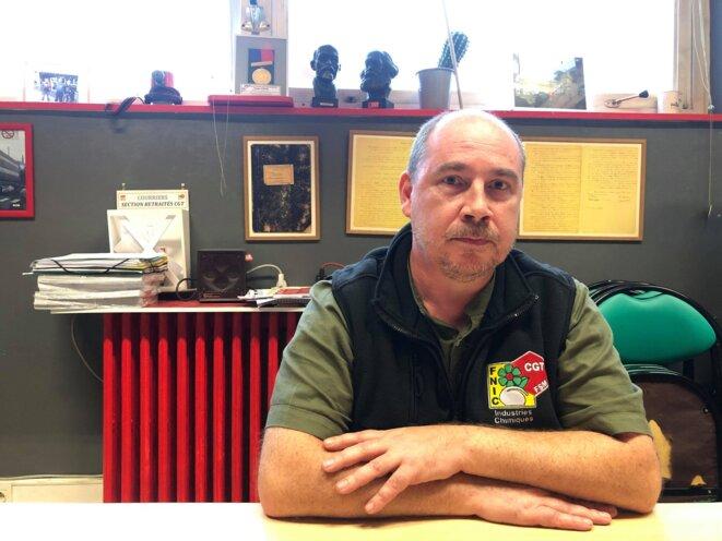Mickael Godefroy, salarié de l'usine depuis 15 ans.
