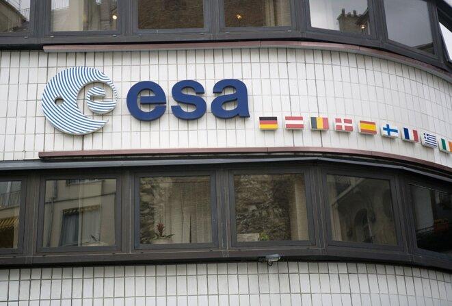 Le siège de l'Agence spatiale européenne, à Paris. © Loïc Venance / AFP
