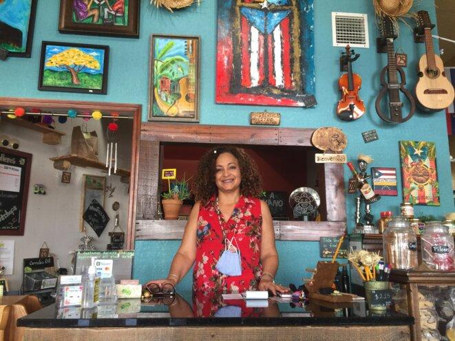 Darlene Ramirez, fondatrice de Casa Del Artesano à Kissimmee. © AB