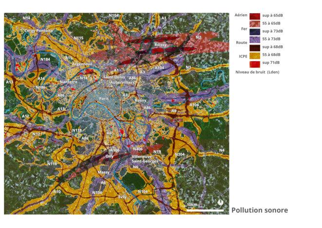 Pollution sonore - Grand Paris © fair