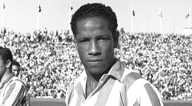 Larbi Benbarek (1917-1992), marocain de naissance et international français de 1938 à 1954