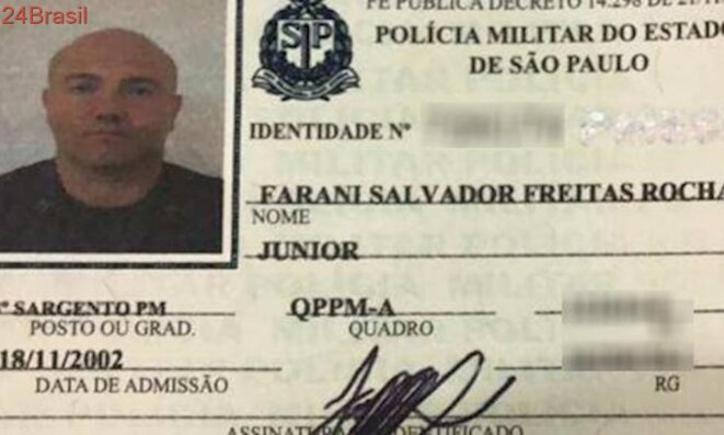 Farani Salvador Freitas Rocha Júnior, policier militaire © UOL