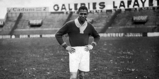 Raoul Diagne, premier joueur noir à porter le maillot de l'Equipe de France
