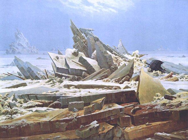 La mer de glace - Caspar David Friedrich, 1823