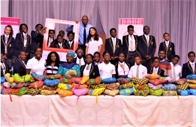 Nigeria | Cancer du sein - coussin de cœur