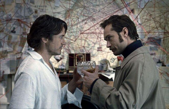 """Sherlock Holmes 2 : Jeu d'ombres"" (Sherlock Holmes: A Game of Shadows) de Guy Ritchie © Warner Bros."