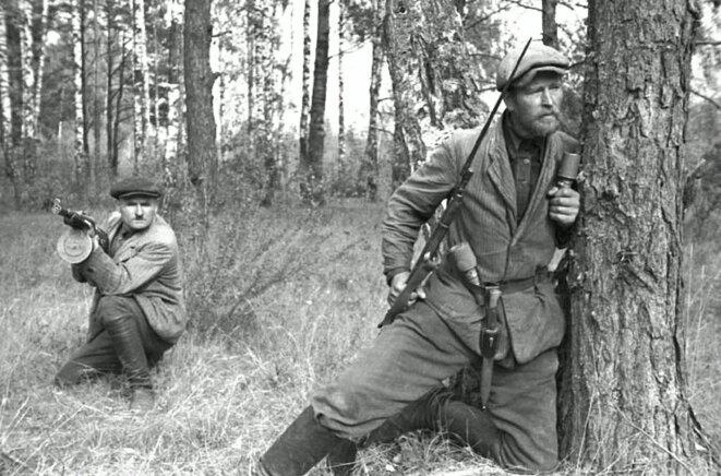 Partisans biélorusses en 1943