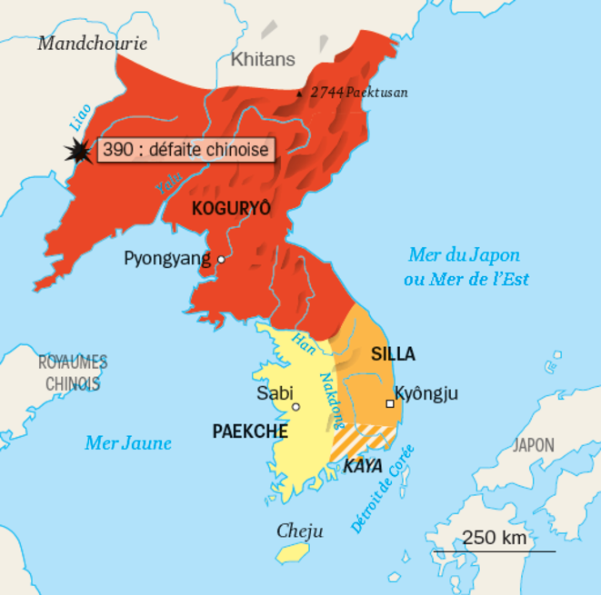 Les Trois Royaumes de Corée - Vème-VIIème siècle