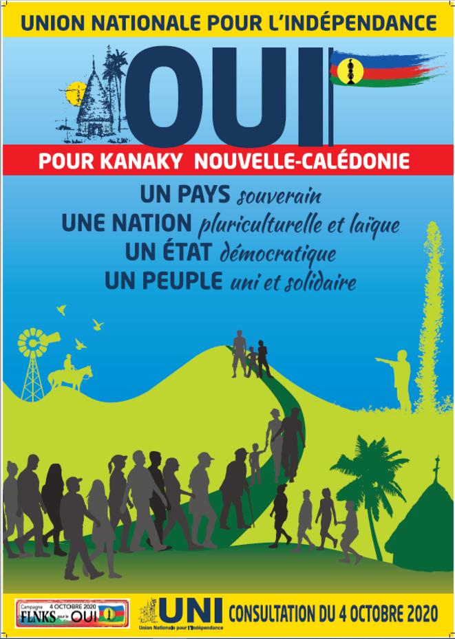 Affiche UNI de la consultation du 4 octobre 2020 © Cap 2020