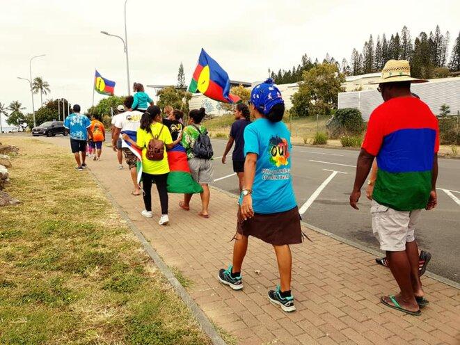 Des jeunes dans les rues durant la campagne le 27 septembre 2020 © Cap 2020