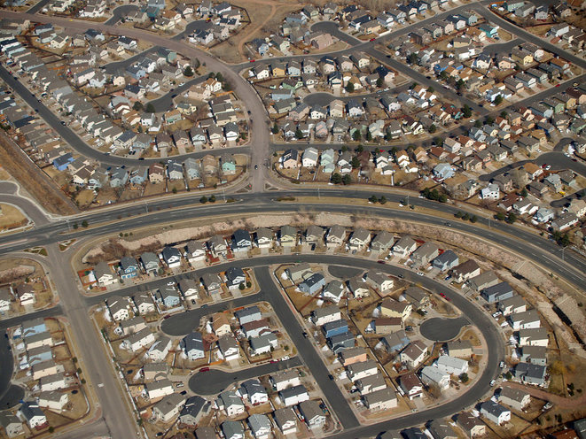 «Suburbs» au Colorado. © David Shankbone