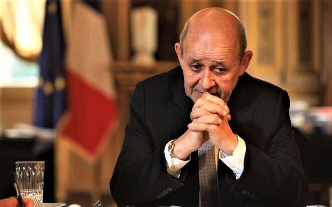 Jean-Yves Le Drian, Ministre de l'Europe et des Affaires étrangères.