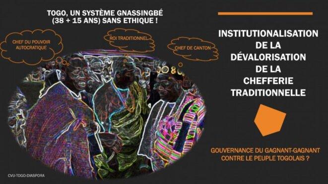 Togo: institutionnalisation de la dévalorisation de la chefferie traditionnelle
