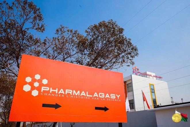 Pharmalagasy © @Présidence Madagascar