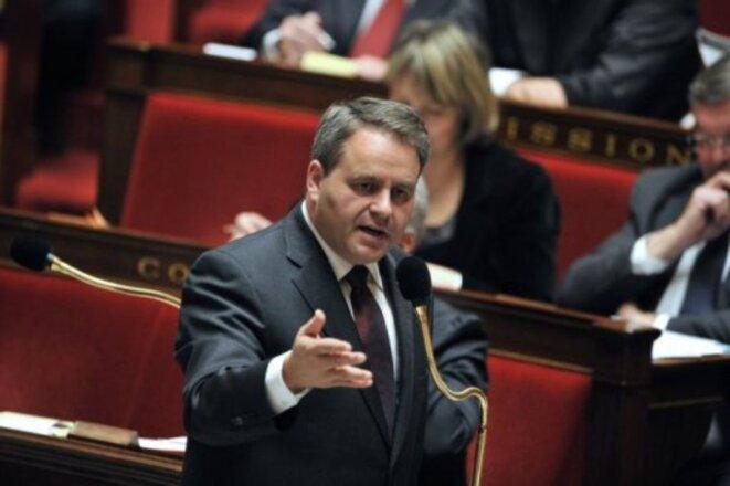 Xavier Bertrand à l'Assemblée nationale © Libération