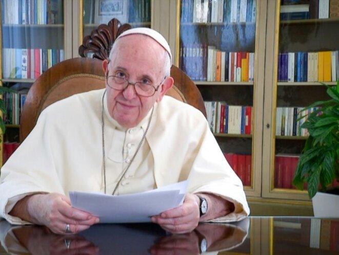 Pape François sur TED, 20201010.