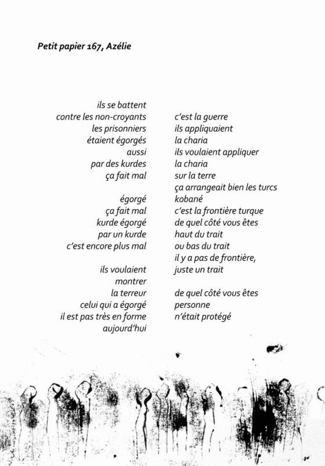 page du livre L'ENVOL des PETITS PAPIERS © Guy Catalo - Anne Sarda