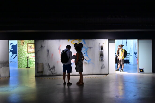 Expo Banksy Paris © Denis Spilet