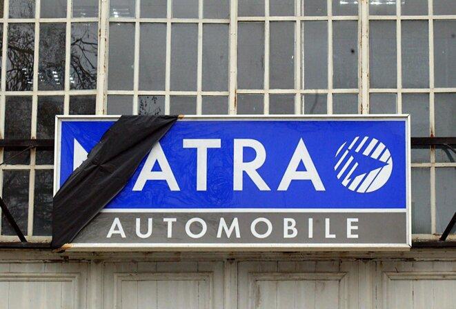 L'usine Matra en 2003, à Romorantin (Loir-et-Cher). © AFP