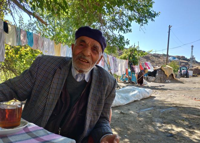 Haci Süleyman Kop est la mémoire du village kurde de Kilittasi. © NC