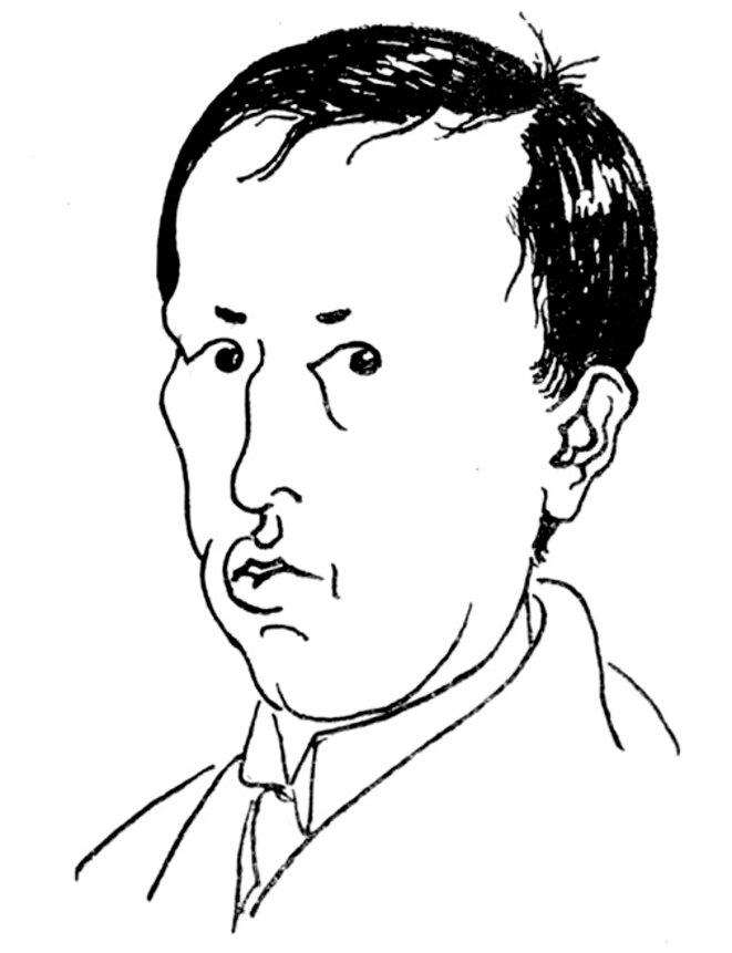 Autoportrait de Karel Čapek (1925)