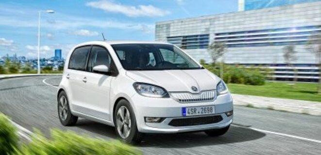 Skoda Citigo e iV (15 768 €) 260 km © Automobile Magazine