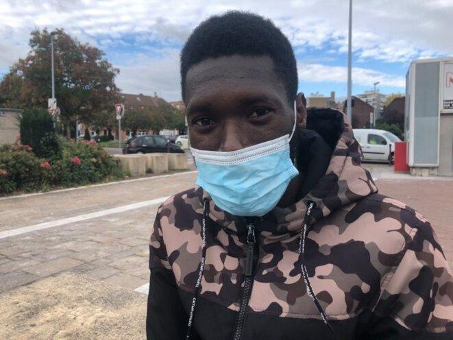 Mohamed, 19 ans, en recherche d'emploi. KZ