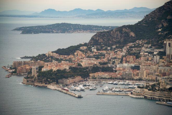 Vue aérienne de Monaco © AFP