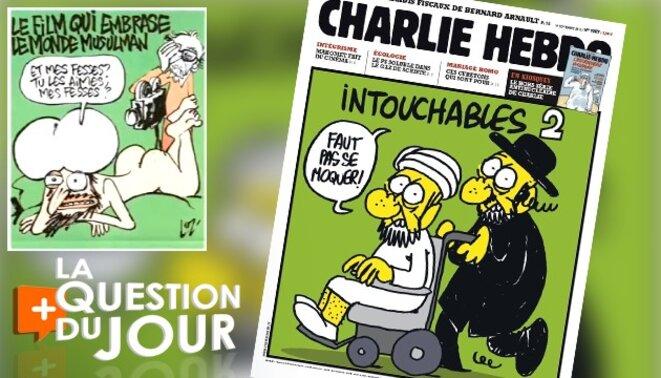 """Réaffirmons le droit à l'expression libre en diffusant encore plus les dessins de """"Charlie-Hebdo""""!"""